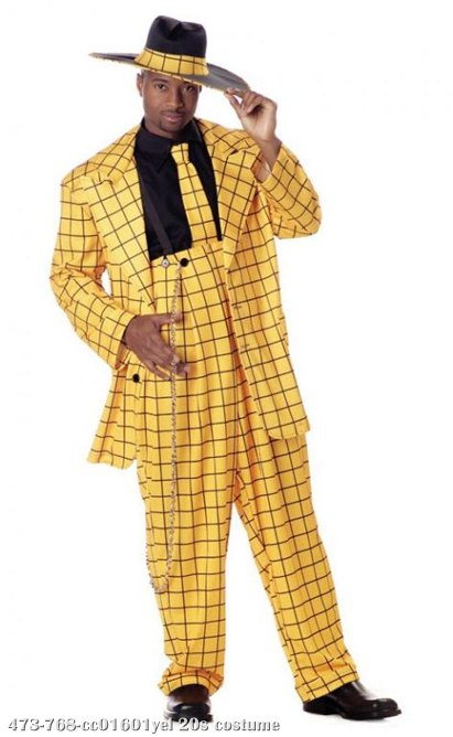 Zoot Suit Plus Size Costume