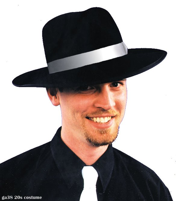 Black Zoot Suit Hat