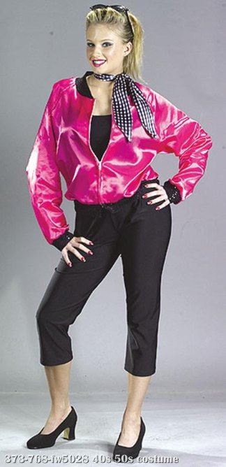 T-Bird Sweetie Jacket Adult Costume