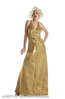 Golden Glamour Marilyn Monroe Adult Costume