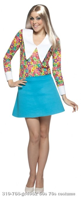 Brady Bunch Marcia Adult Costume