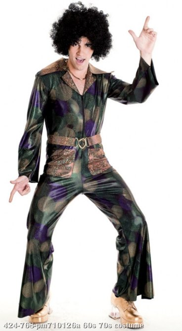 Disco Fever Adult Costume Small