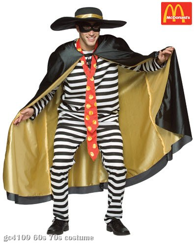 Hamburglar Adult Costume