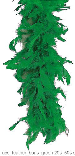 Green 40 Gram Feather Boa