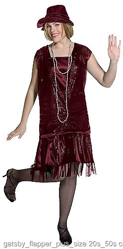 Gatsby Girl Plus Size Flapper