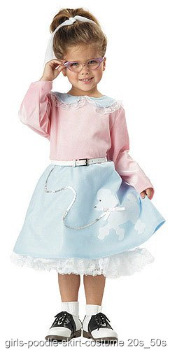 Toddler Poodle Skirt Costume