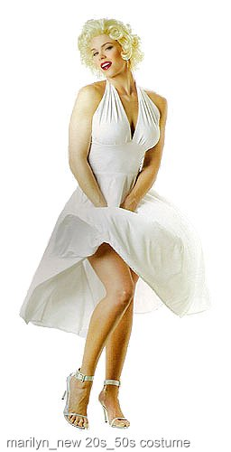 Marilyn Monroe Costume Dress