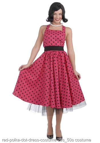 50s Polka Dot Dress Costume