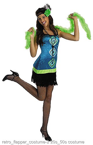 Retro Teen Flapper Costume