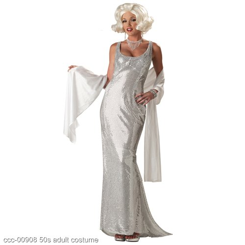 Platinum Marilyn Monroe Adult Costume