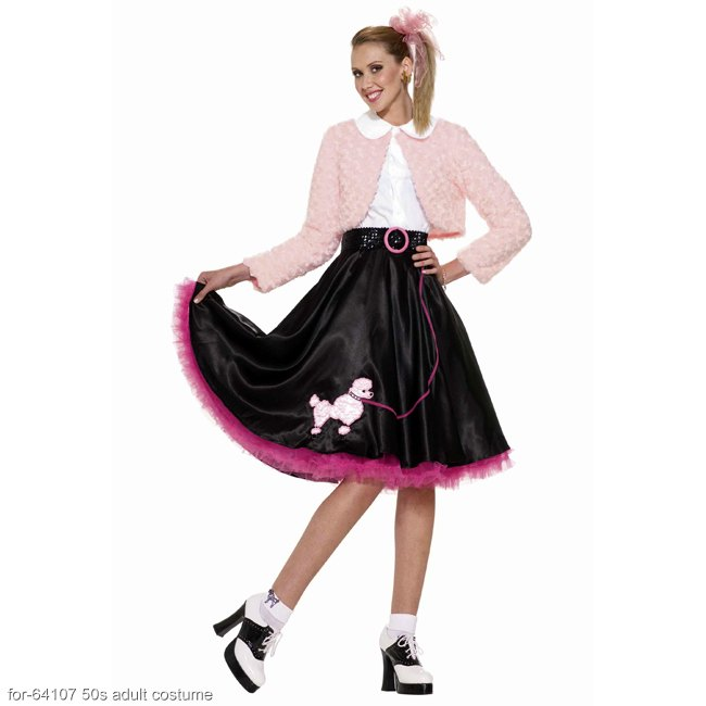 50s Sweetheart Poodle Adult Costume