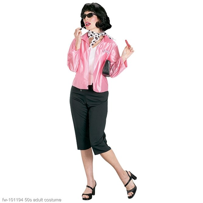Grease Pink Ladies Adult Costume