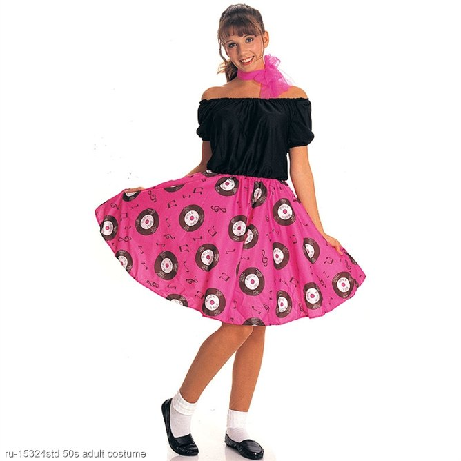 50s Girl Adult Costume