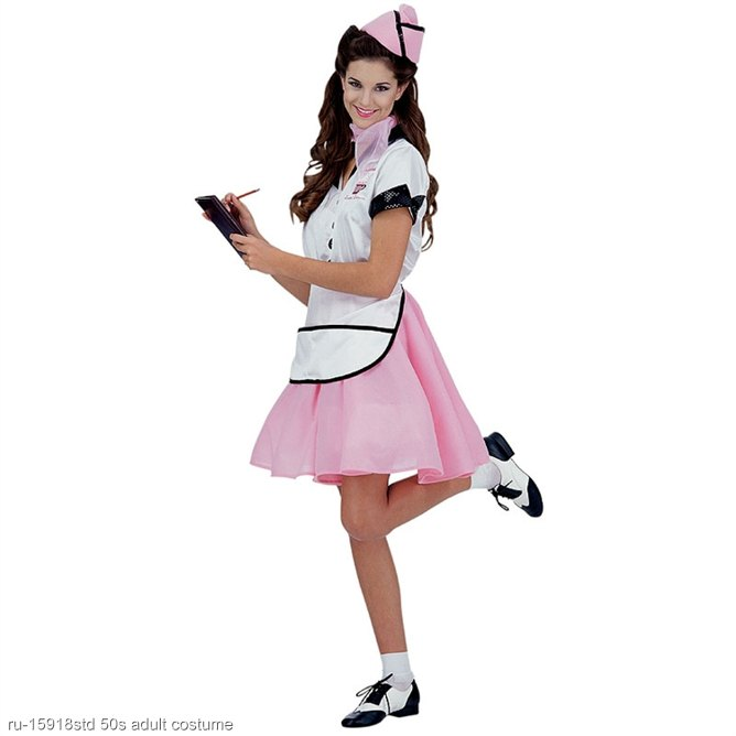 Soda Pop 50s Girl Adult Costume