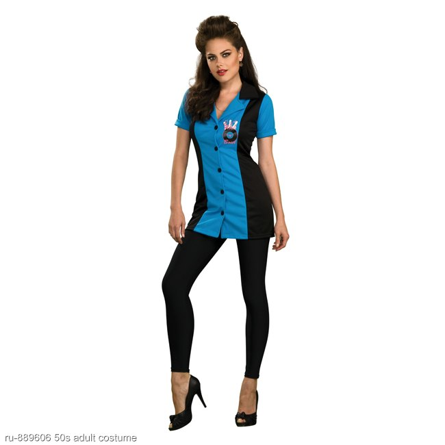 Women's Ginger Bowling Costume