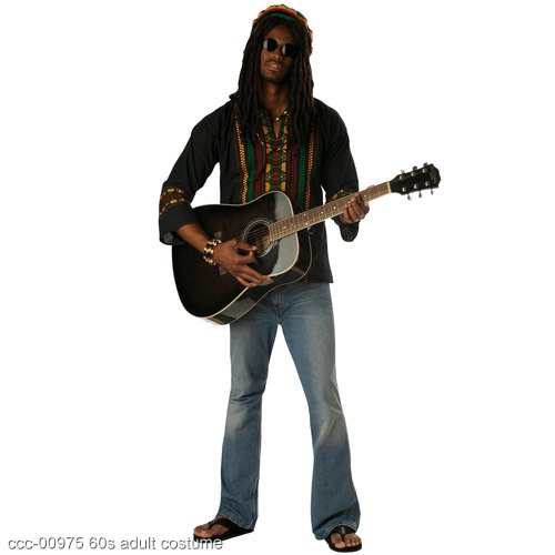 Reggae Man Rasta Adult Costume