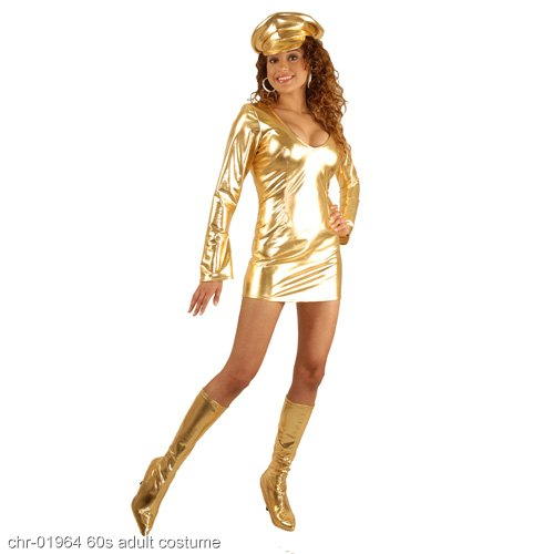 Liquid Metal GoGo Adult Costume