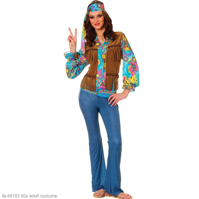 Hippie Chick Adult Costume