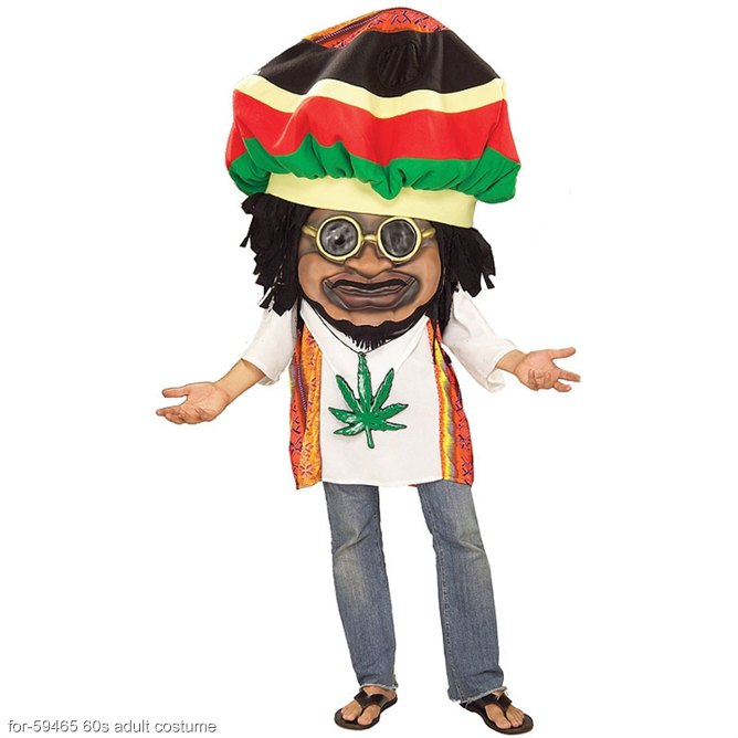 Rasta Mon Oversized Adult Costume