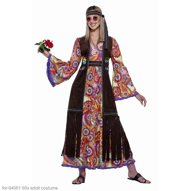 Love Child Hippie Adult Costume