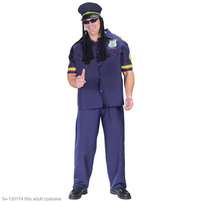 Way High Patrol Adult Costume