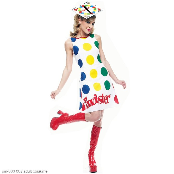 Hasbro Twister Game Adult Costume