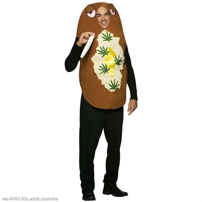 Totally Baked Potato Adult Costume