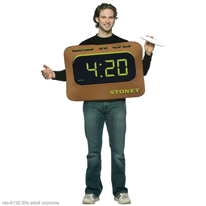 It's 4:20 Funny Adult Costume