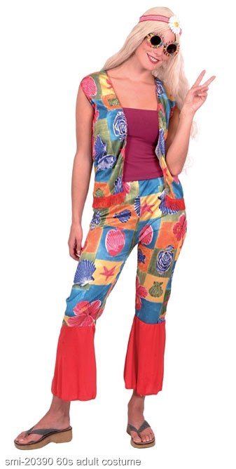 Flower Power Hippie Costume