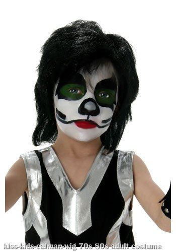 Kids KISS Catman Wig