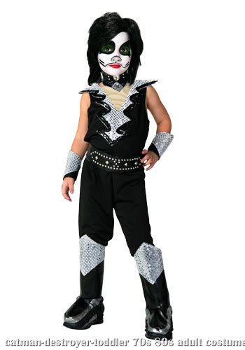 Toddler Authentic Catman Destroyer Costume
