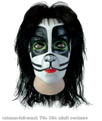 Full KISS Catman Mask