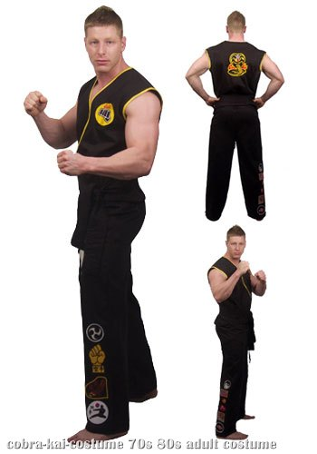 Adult Cobra Kai Costume