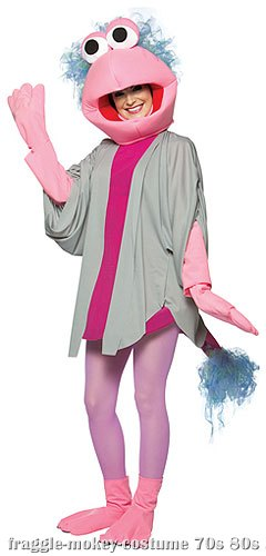 Mokey Fraggle Rock Costume