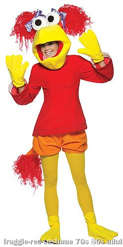 Red Fraggle Rock Costume