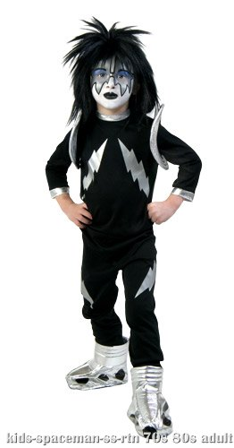 Kids Screenprint KISS Spaceman Costume