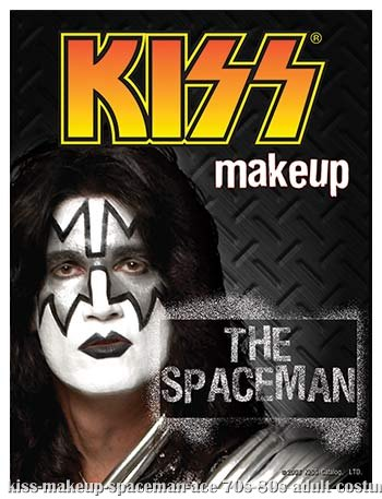 KISS Spaceman Makeup - Click Image to Close