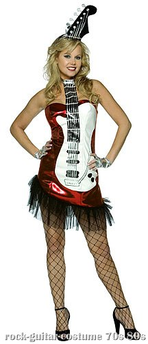 Sexy Rock Guitar Costume