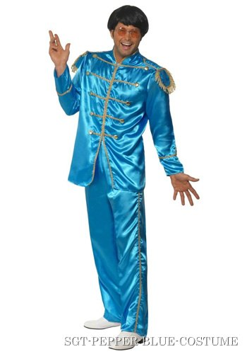 Blue Sgt Pepper Beatles Costume