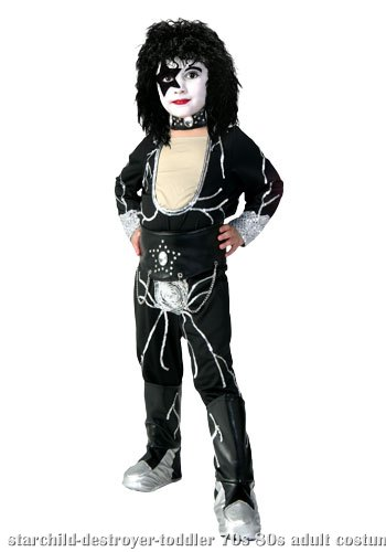 Toddler Authentic Starchild Destroyer Costume
