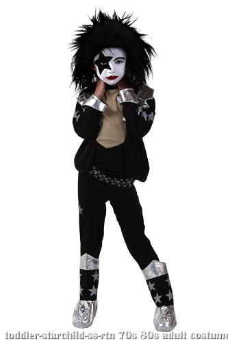 Toddler Screenprint KISS Starchild Costume