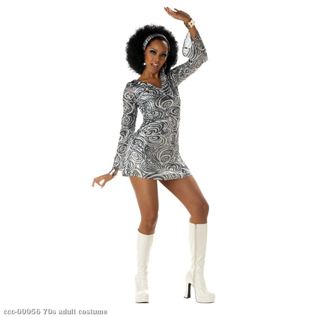 Disco Diva 70s Adult Costume