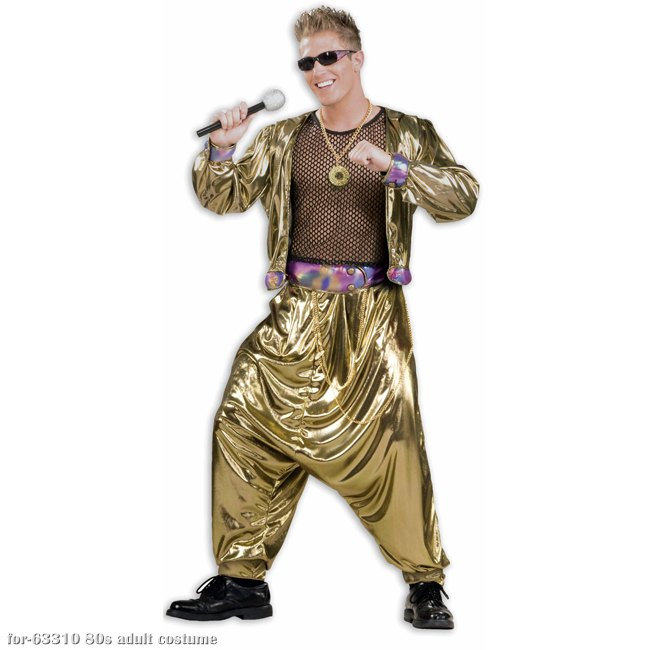 80s MC Hammer Adult Costume