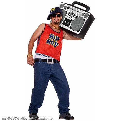 80s Hip Hop Home Boy Rapper Adult Costume