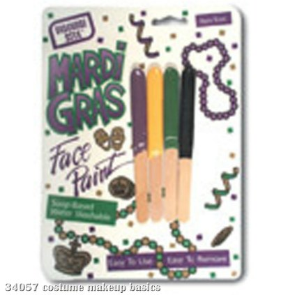 Mini Mardi Gras Makeup Kit