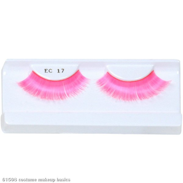Pink Party Eyelashes with Case