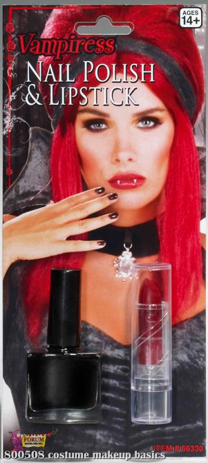 Vampiress Nail Polish & Lipstick Set