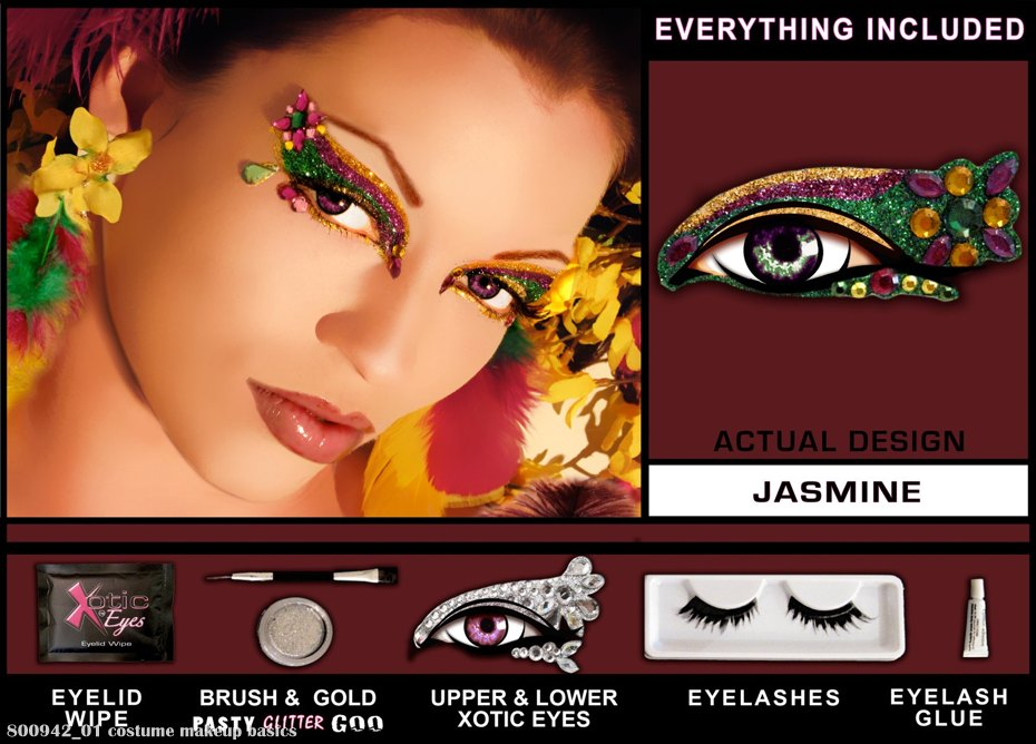 Xotic Eyes Jasmine Eye Kit