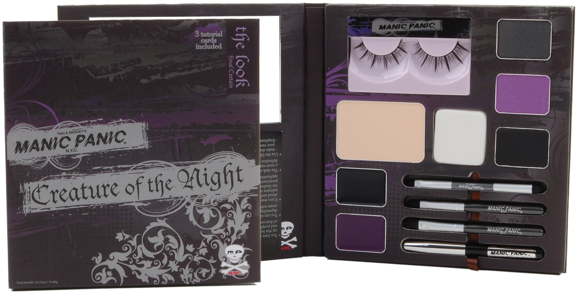 Final Curtain Purple All-Inclusive Make-Up Kit