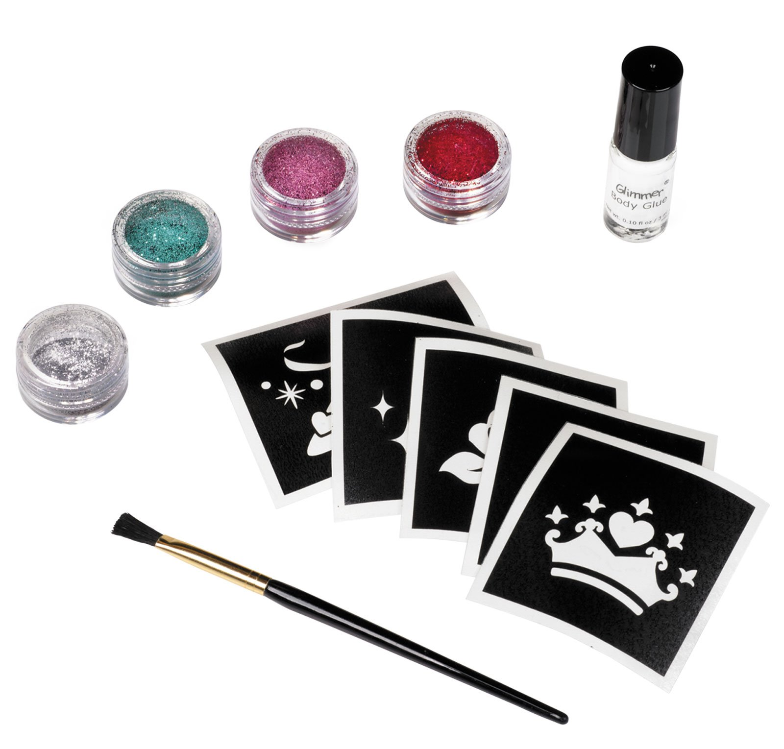 Disney Princess Glitter Tattoo Kit